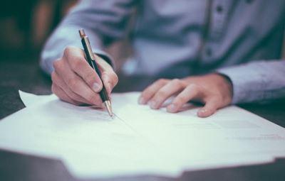 Signature manuscrite ou pas ?